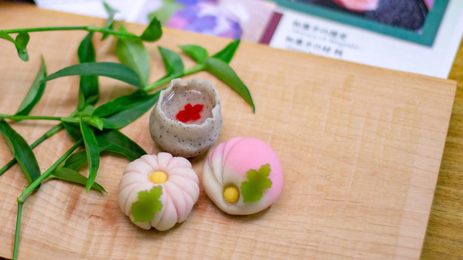 伝統和菓子手作り体験